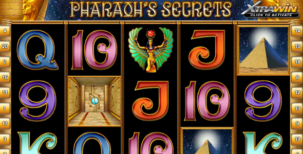 Hra Pharaoh´s Secrets