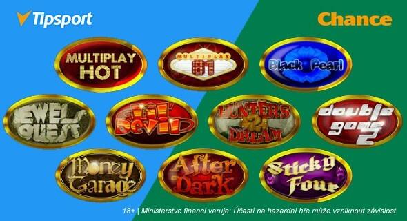 e-gaming automaty uTipsportu aChance