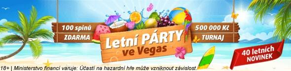 Letní akce ve Vegas
