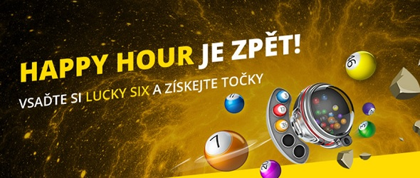Happy hours ve Fortuna online loteriích