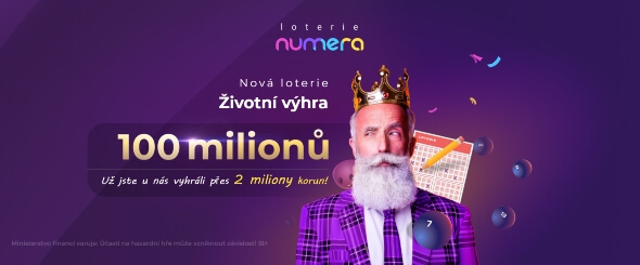 Výhry vonline loterii Numera